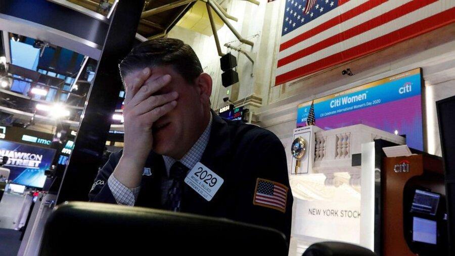 جنگ قیمت و کرونا نفت داو جونز را 2000 واحد پایین آورد ، معاملات سهام در نیویورک متوقف شد