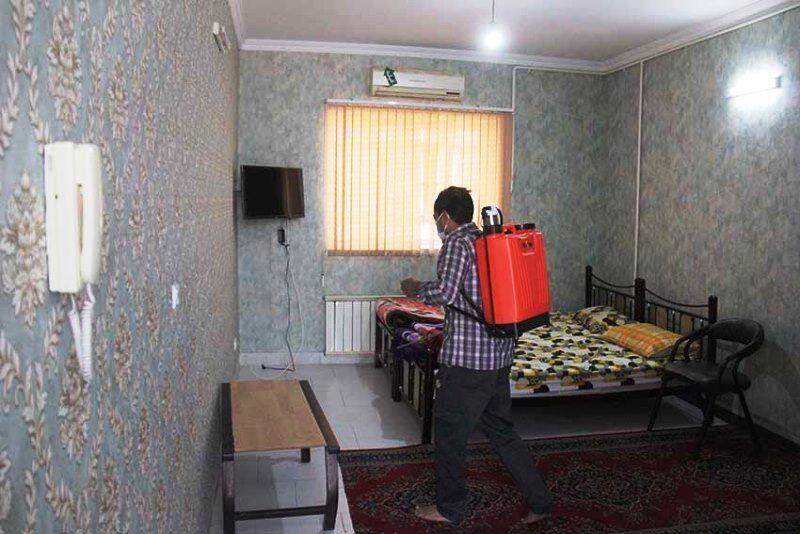 خبرنگاران 500 مکان ورزشی یزد ضدعفونی شد