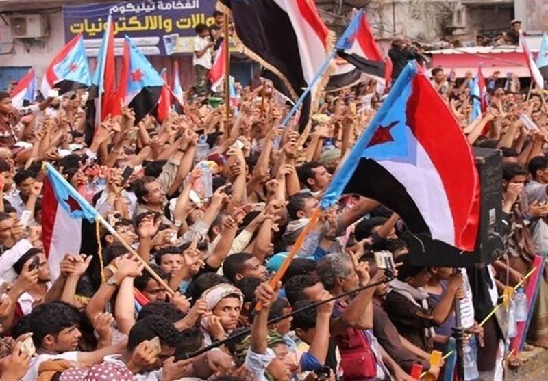 ادامه اختلافات گروه های نیابتی امارات و عربستان، حمایت شیوخ عشایر جنوب یمن از اعلام خودمختاری