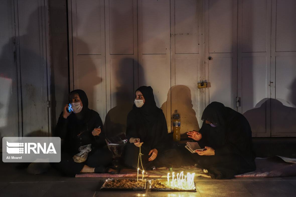 خبرنگاران اشک و سوگ مردم خوزستان در شام غریبان حسینی