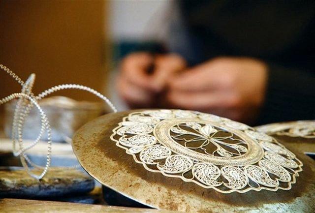 نشان ملی مرغوبیت کالا برای 3 اثر صنایع دستی استان زنجان