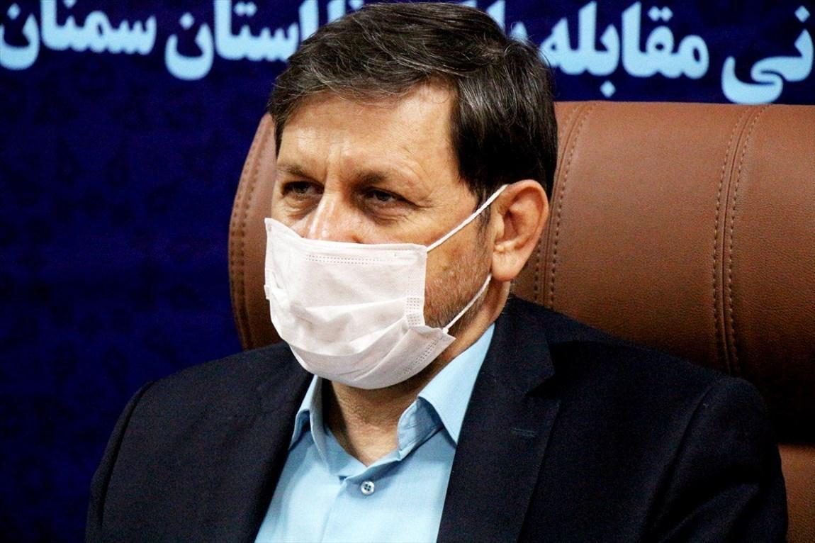 کاهش تعداد بستری شدگان مبتلا به کرونا در استان سمنان
