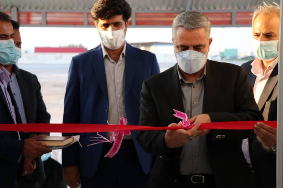 خبرنگاران سامانه ورود و ثبت اطلاعات گمرک بندرپهل خمیر افتتاح شد