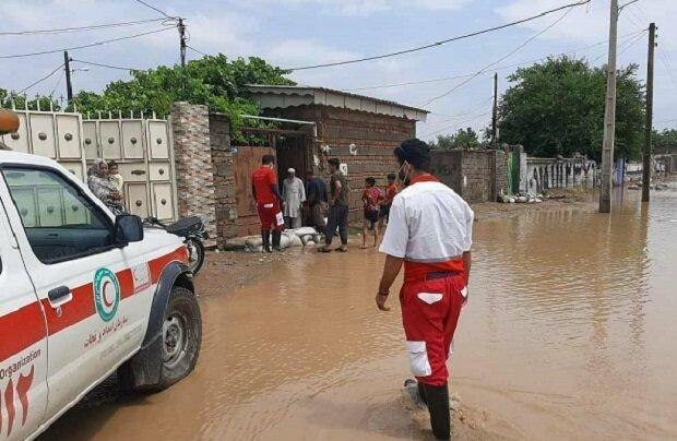 امدادرسانی 145 نیروی امدادی به سیل زدگان بوشهر و فارس