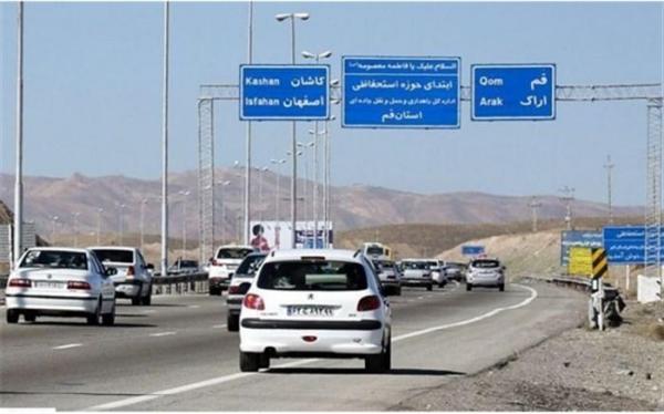 جو آرام در تمام جاده های کشور؛ ترافیک در 2 محور سنگین است