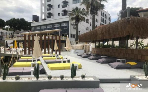 هتل مارتی بیچ کوش آداسی؛ اقامتی لوکس در ساحل دریای اژه